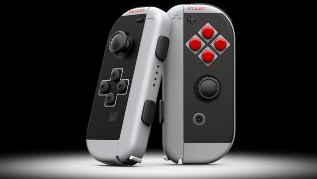 Switch-Controller in NES-Optik kostet 200 Dollar (Bild: colorware.com)