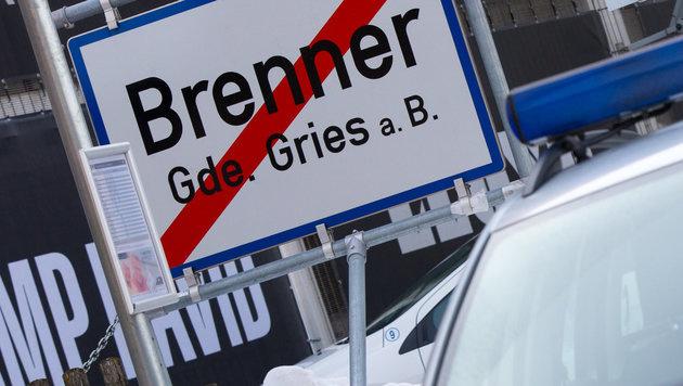 Brenner-Streit: Italien droht uns mit EU-Verfahren (Bild: APA/EXPA/ JAKOB GRUBER)