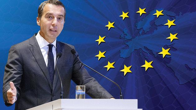 Lasten neu verteilen: So will Kern die EU umbauen (Bild: APA/GEORG HOCHMUTH, thinkstockphotos.de)