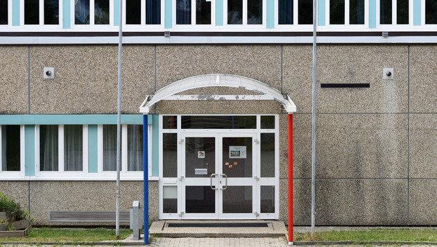 Die Neue Mittelschule in Ohlsdorf (Bild: APA/WOLFGANG SPITZBART)