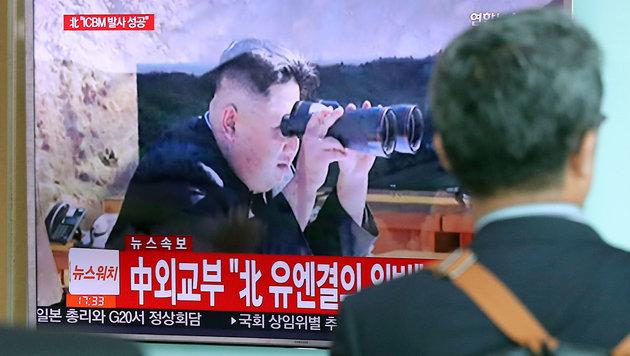 Nordkorea: Besorgniserregende Wärmebild-Aufnahmen (Bild: AP)