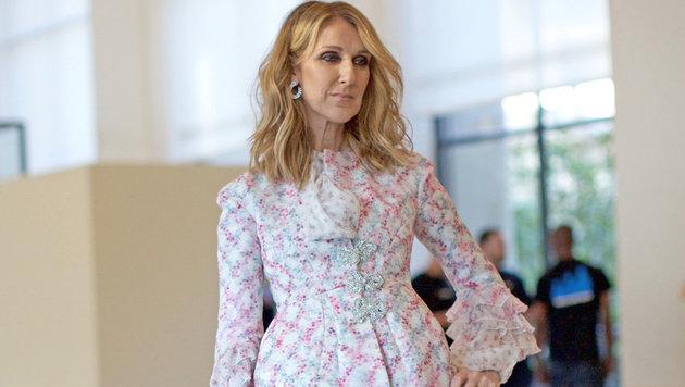 Celine Dion bei der Pariser Modewoche (Bild: News Pictures/face to face)