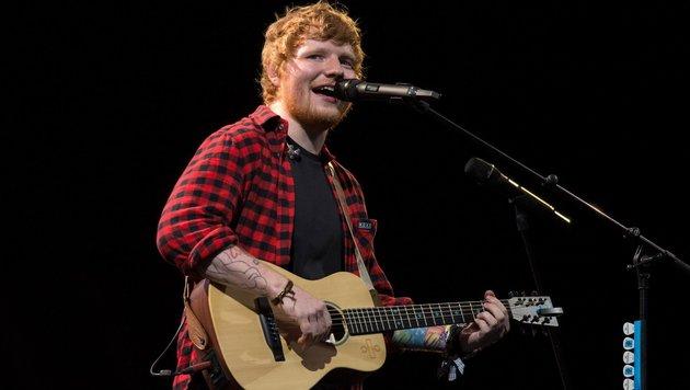 Ed Sheeran (Bild: AFP)