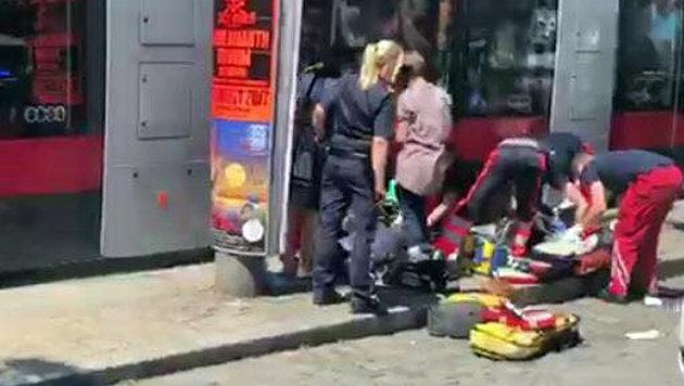 """Mutter von Straßenbahn getötet - Notkaiserschnitt (Bild: """"Krone""""-Leserreporter Vijana Manset Haber)"""