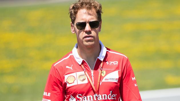 """Vettel gesteht: """"Habe einen Fehler gemacht"""" (Bild: APA/GEORG HOCHMUTH)"""