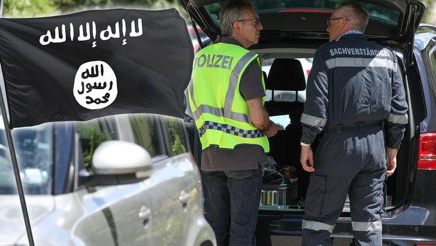 War Doppelmord die erste IS-Bluttat in Österreich? (Bild: APA/LAUMAT.AT/MATTHIAS LAUBER, thinkstockphotos.de)