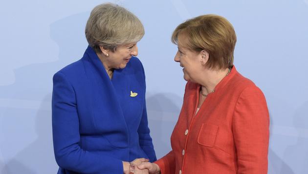 Die britische Premierministerin Theresa May (Bild: AP)