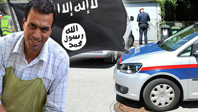 Mohamed H. soll intensive Verbindungen zum IS gepflegt und Treueschwüre abgelegt haben. (Bild: Alexander Schwarzl, thinkstockphotos.com, APA/LAUMAT.AT)