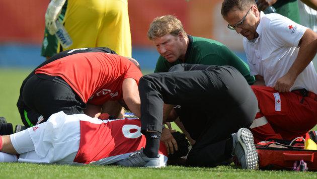 Ajax-Spieler bei Test zusammengebrochen