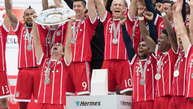 95,84 Millionen Euro! Bayern kassiert am meisten (Bild: GEPA)