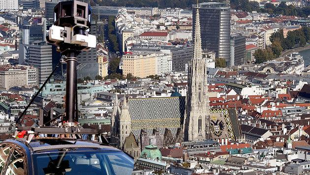 Google Street View nimmt Österreich in Angriff!