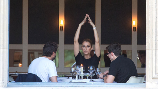 Ob die Sängerin mit diesen Turnübungen die Blicke auf ihre Nippel lenken wollte? (Bild: www.PPS.at)