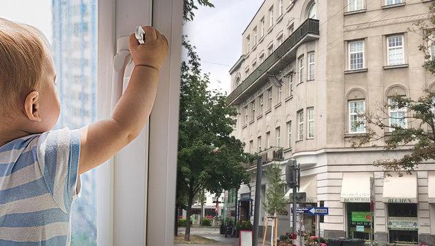 Fenstersturz in Wien: Tragödie um Valentins Retter (Bild: Andi Schiel, thinkstockophotos.de (Symbolbild))