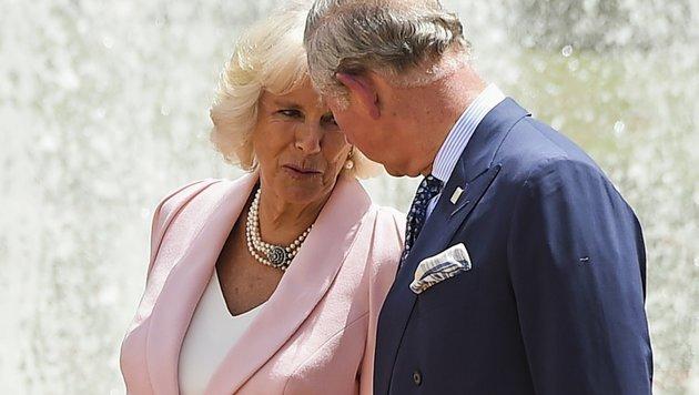 Charles und Camilla (Bild: AFP)