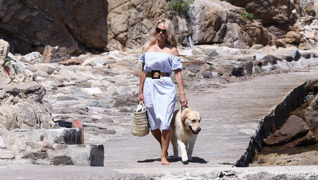 Pamela Anderson ist in Saint-Tropez zur Erholung. (Bild: www.PPS.at)