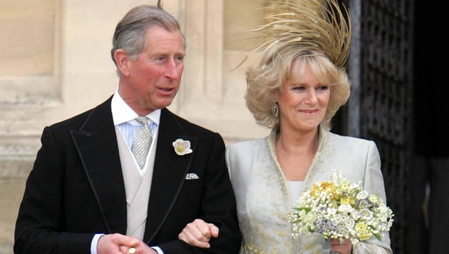 Prinz Charles und Camilla nach der Hochzeit (Bild: www.pps.at)