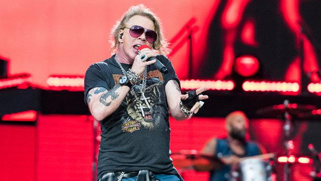 """Guns N"""" Roses: Die Allerletzten ihrer Zunft (Bild: Andreas Graf)"""