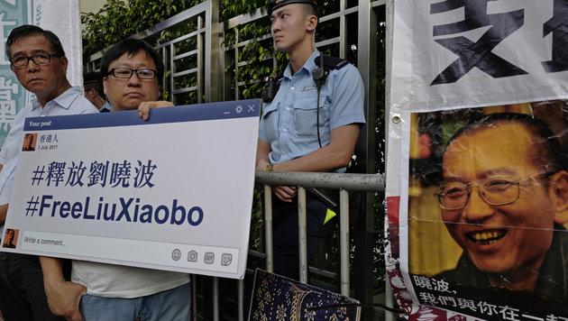 Wer ist Liu Xiaobo? So funktioniert Chinas Zensur (Bild: AP)
