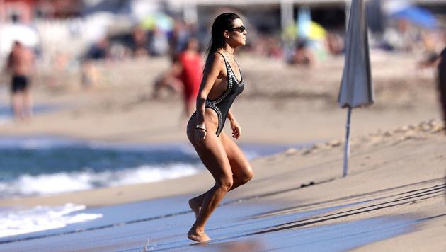 In Saint-Tropez kann man auch Kourtney Kardashian über den Weg laufen. (Bild: www.PPS.at)