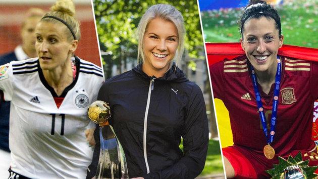 Das sind die Stars der Frauenfußball-EM 2017 (Bild: GEPA, instagram.com)
