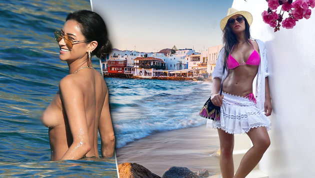 Mykonos, Ibiza: Die Urlaubs-Hotspots der Stars (Bild: PHOTOPRESS.at, thinkstockphotos.de, krone.at-Grafik)