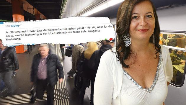 Wien: Ferienfahrplan verärgert Öffi-Nutzer (Bild: Wiener Linien, Peter Tomschi, krone.at)