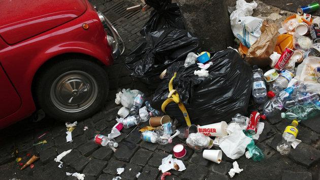 Die schmutzige Seite des Tourismus in Italien (Bild: AFP)