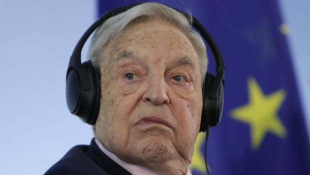 Feindbild der ungarischen Regierung: der ungarisch-stämmige US-Milliardär George Soros (Bild: AP)