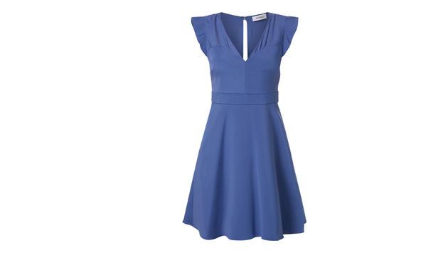 Kleid in Rauchblau (Bild: Peek & Cloppenburg)