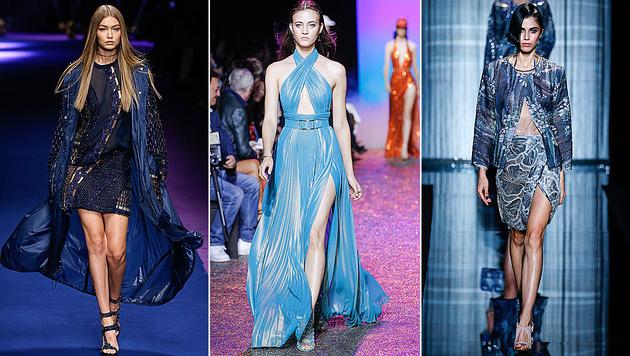 Blau setzt sich als Trendfarbe des Sommers durch. (Bild: www.fashionpress.at)