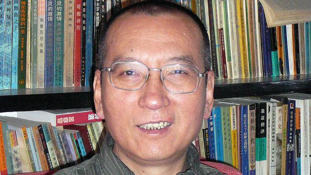 Archivbild von Liu Xiaobo aus dem Jahr 2008 (Bild: AP)