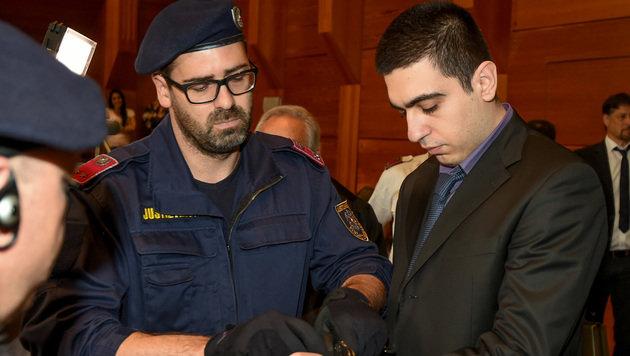 Nach Mord an Landsmann: Lebenslang für Griechen (Bild: Erich Spiess)