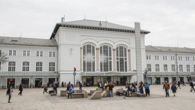 Schritt für Schritt leitet die Stadt Maßnahmen ein, um die Bahnhofsgegend sicherer zu machen. (Bild: Markus Tschepp)