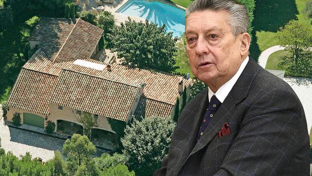 Südfrankreich: So verfällt Elsners Millionen-Villa (Bild: Reinhard Holl, APA/HELMUT FOHRINGER)