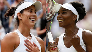 Venus Williams trifft im Finale auf Muguruza! (Bild: AP, AFP)