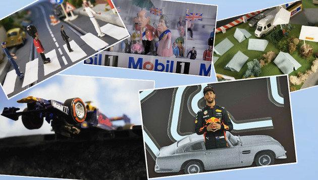 Witzig! Ricciardo erklärt den England-GP (Bild: Red Bull Contentpool)