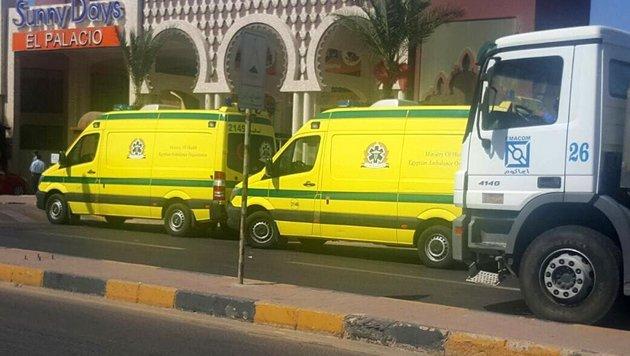 Das ist der Messermörder von Hurghada! (Bild: EPA)