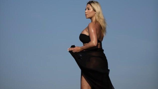 """Mit ihren Kurven will Bianca Speck die Jury von """"Curvy Supermodel"""" überzeugen. (Bild: Wesco Taubert)"""