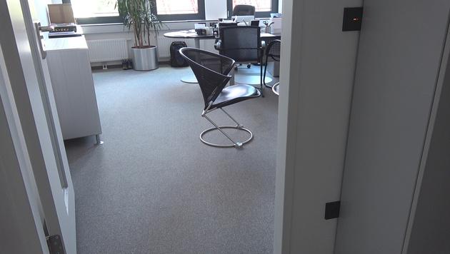 """Das Büro des Vereins """"Route 66"""" (Bild: Alexander Bischofberger-Mahr)"""