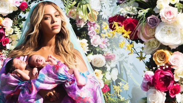 Beyonce zeigt erstmals Foto von ihren Zwillingen (Bild: instagram.com)