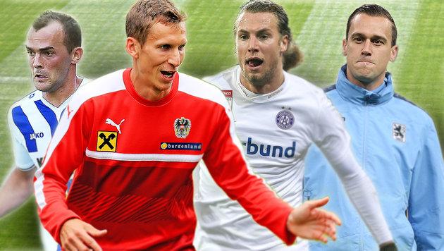 """""""FC AMS"""" - diese Austro-Kicker sind noch zu haben! (Bild: GEPA)"""