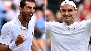 Federer steht zum 11. Mal im Wimbledon-Finale (Bild: AFP)