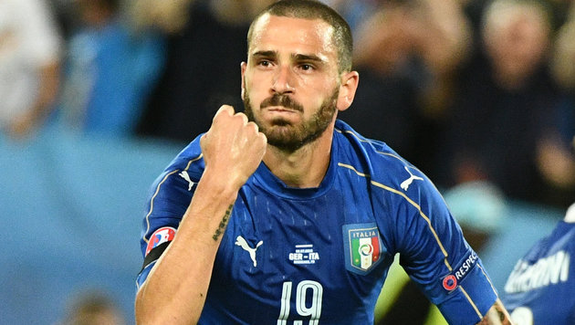 Milan eist Leonardo Bonucci von Juventus Turin los (Bild: AFP)