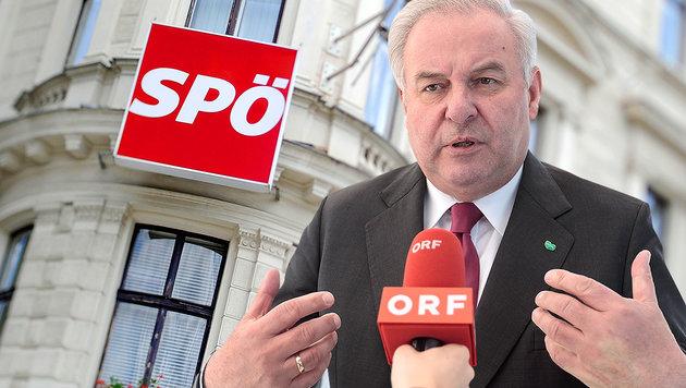 """Schützenhöfer: """"SPÖ macht für Machterhalt alles"""" (Bild: APA/EXPA/JOHANN GRODER, APA/ROLAND SCHLAGER)"""
