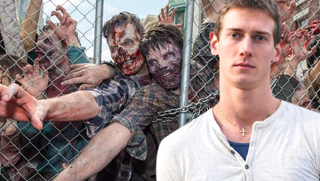 """Stuntman stirbt am Set von """"The Walking Dead"""" (Bild: APA/AFP/VALERIE MACON, twitter.com/TheWalkingNews)"""