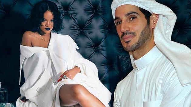Rihanna: Milliarden-Ehevertrag mit Saudi-Mogul (Bild: Viennareport, www.pps.at, krone.at-Grafik)