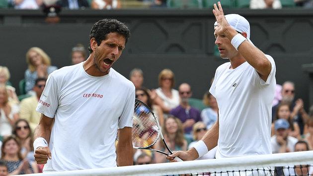 Marcelo Melo und Lukasz Kubot (Bild: AFP)