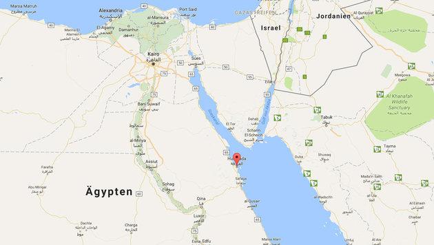 Das ist der Messermörder von Hurghada! (Bild: Google Maps)