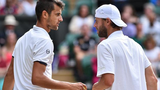 Mate Pavic und Oliver Marach (Bild: AFP)