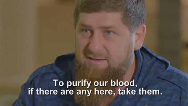 """Kadyrow: """"Werden die ganze Welt von hinten f***en"""" (Bild: Twitter.com)"""